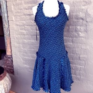 Lanvin bias cut basket weave dress (new with tags)